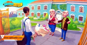 Homescapes MOD APK [Unlimited Stras] 2021 1